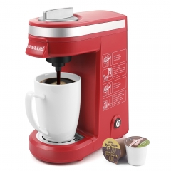 CHULUX Single Cup Coffee Maker Travel Coffee Brewer,Red